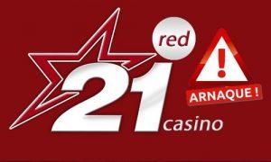 21red casino arnaque